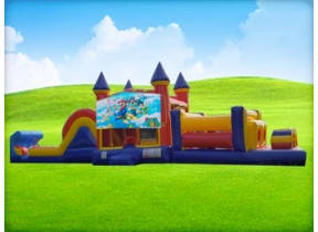 50ft Mario Obstacle w/ Wet or Dry Slide