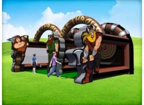 Viking Axe Throw