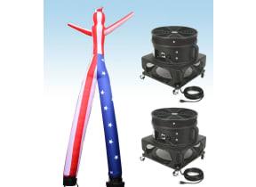 Sky Dancer (Stars & Stripes Double Arms Legs) Tube Man