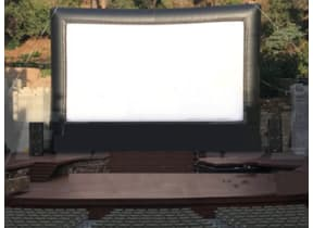 Large Outdoor Movie Screening (Drive Ins