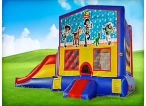3in1 Toy Story Moonwalk w/ Wet or Dry Slide