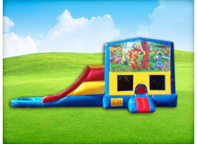 Winnie the Pooh 3in1 Obstacle w/ Wet or Dry Slide