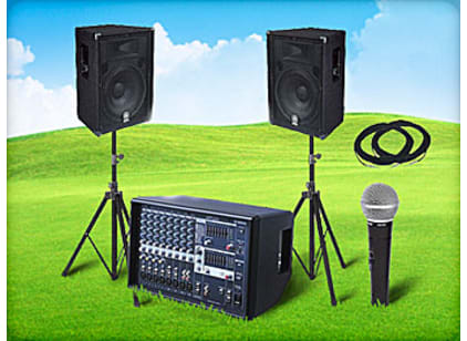 Houston PA Systems for Rent