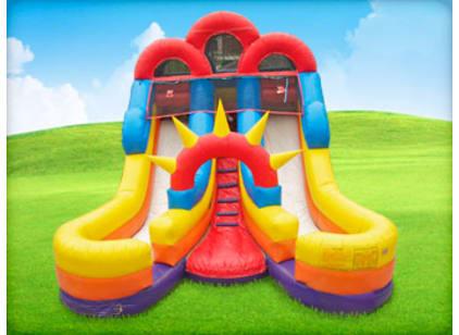 16ft double slide rental