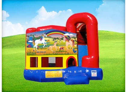 4in1 Unicorn Bounce House Rental