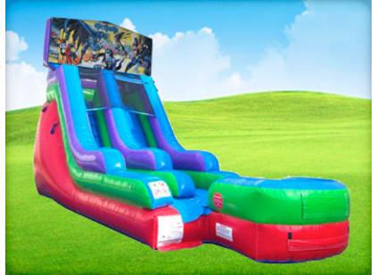 15ft Batman Retro Wet/Dry Slide