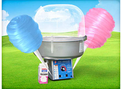cotton candy machines for rent