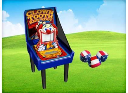 Clown Teeth Carnival Game