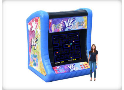 Giant Inflatable Arcade Game Rental