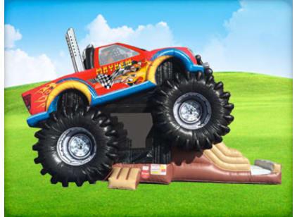 Monster Truck Deluxe Bounce House