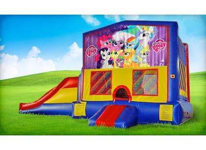 3in1 My Little Pony Moonwalk w/ Wet or Dry Slide