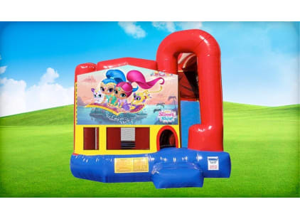 shimmer and shine 4in1 bouncer