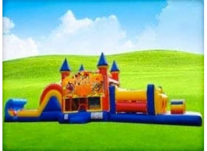 50ft Thanksgiving Obstacle Course