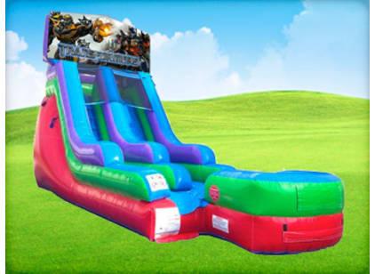 15ft Transformers Retro Wet/Dry Slide