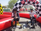 Tricycle for Adults Inflatable Race Track Rental