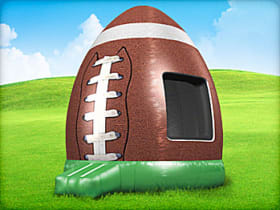 Football Inflatable Moonwalk