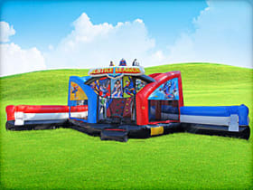 Justice League Obstacle w/ Dual Slides