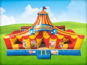 Circus Top View Carnival Moonwalk
