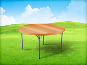 children's table rental