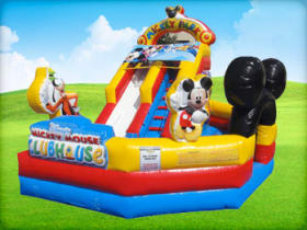 Mickey Playzone Combo Slide (Dry/Wet)