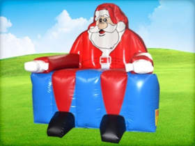 Inflatable Santa Chair