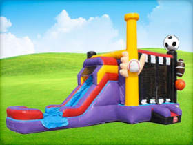 Sports Bounce House Combo For Hire