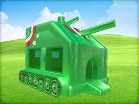 tank bounce house rental