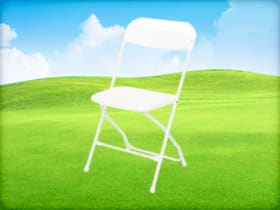 White Folding Chair Rental Houston