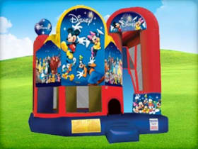 World of Disney 5in1 Bounce House