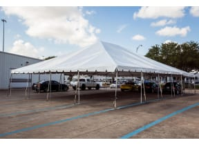 40'x40' Frame Tent Rental