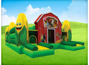 Corn Maze Obstacle Course