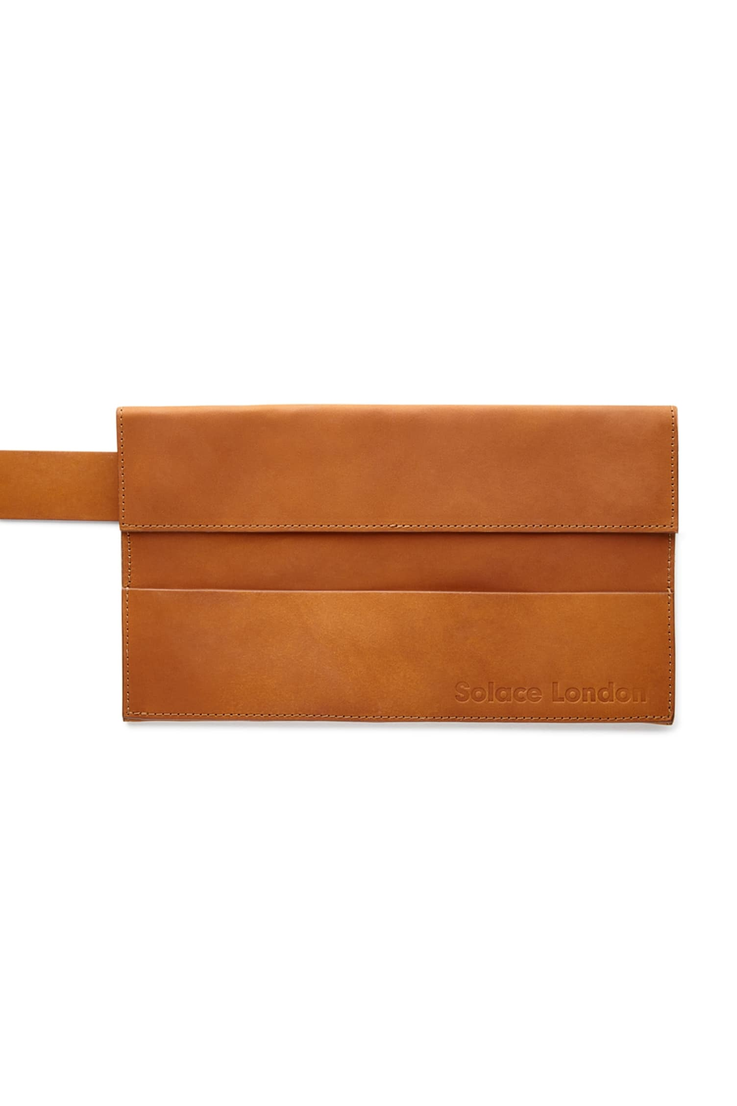 Sutton Envelope Belt Bag Tan