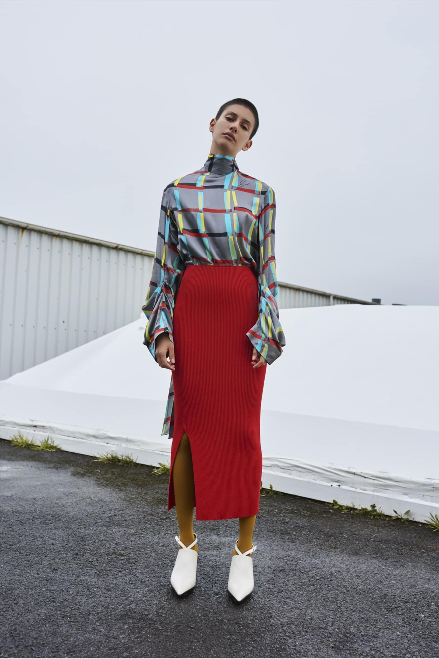 Tao Skirt Red