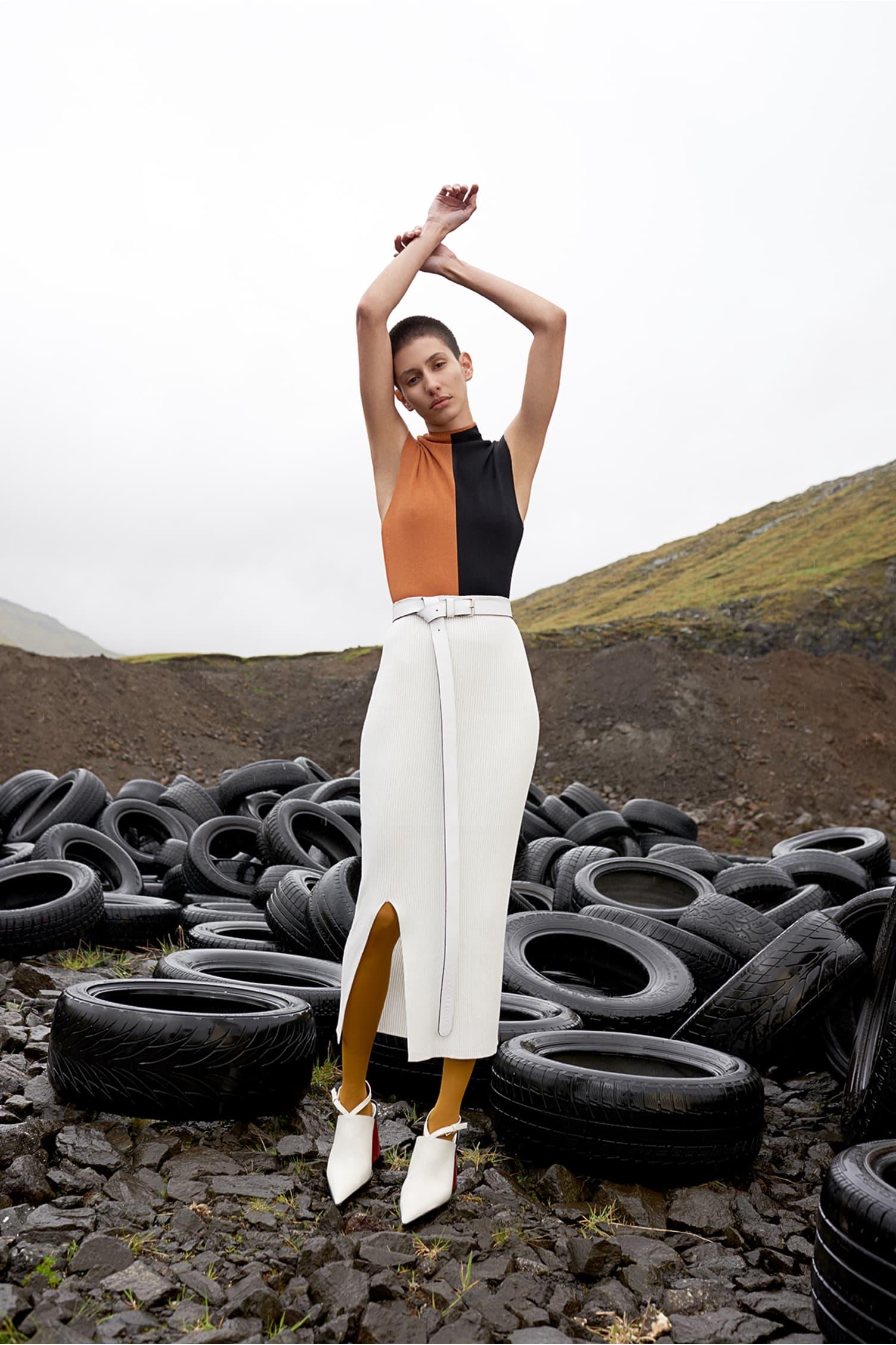 Tao Skirt White
