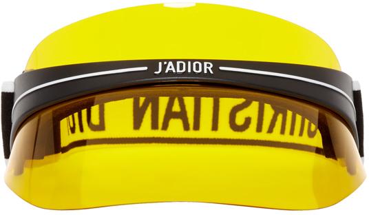 Dior Homme Yellow 'DiorClub1' Visor