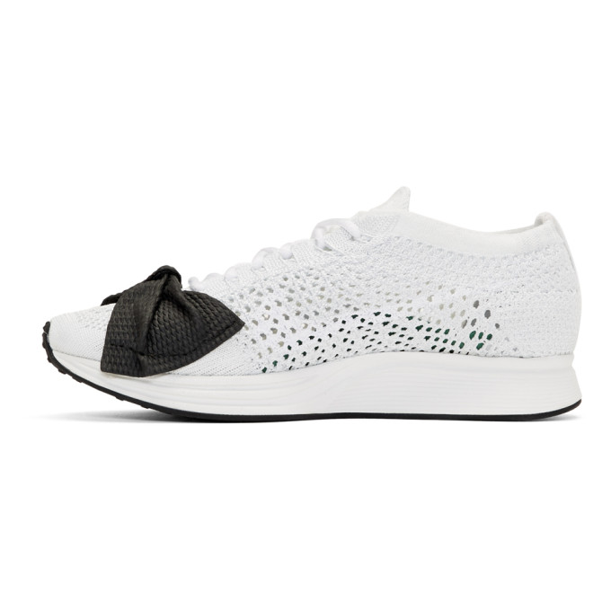 White Nike Edition Customized Racer Sneakers Comme Des Gar?ons HT5kATrm1