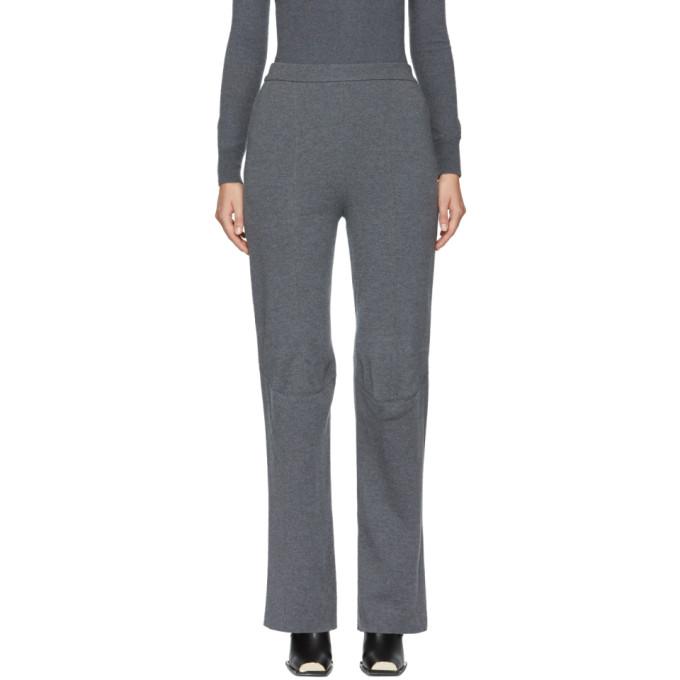 Cheap Top Quality knitted trousers - Grey Stella McCartney Free Shipping Finishline FXSH5H1kU