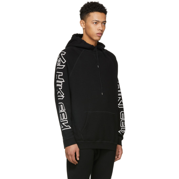 SSENSE Exclusive Black RThirteen Hoodie R13 Clearance Collections Best Prices Sale Shop Offer Cheap Sale Best Seller dycSJco