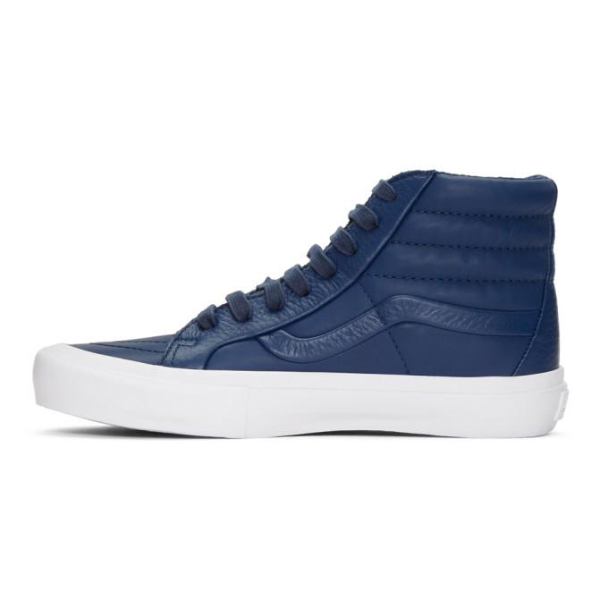 Vans Navy 'Stitch + Turn' Sk8-Hi Reissue ST Sneakers SOIG1ERQU