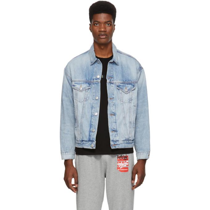 Blue Denim AOD Jacket Purchase Cheap Online CcorGwbfo7