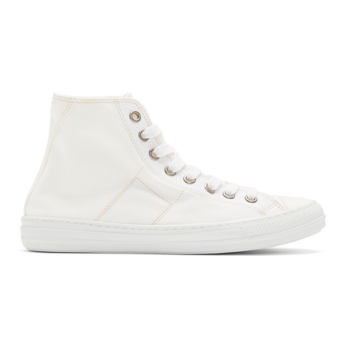 Maison MargielaStereotye High-Top Sneakers uvF7Q7