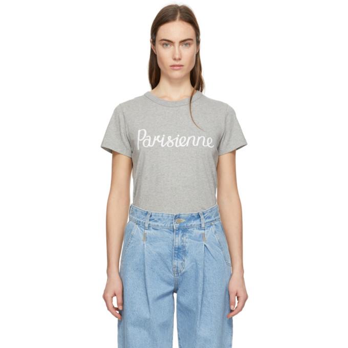 'parisienne' Kitsuné Gris T shirt Maison QrCoExWdBe