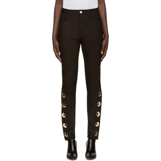 ANTHONY VACCARELLO Anthony Vaccarello Black Skinny Av Jeans