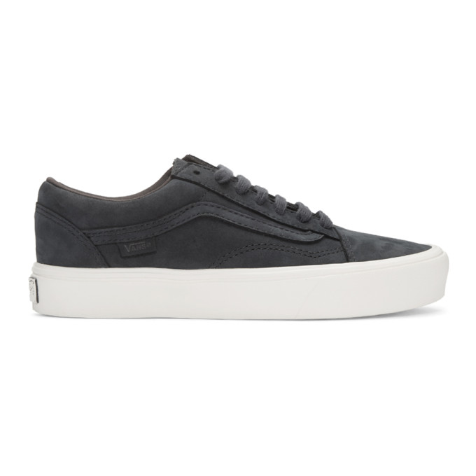 0a2836b44d navy-nubuck-old-skool-lite-lx-sneakers by vans