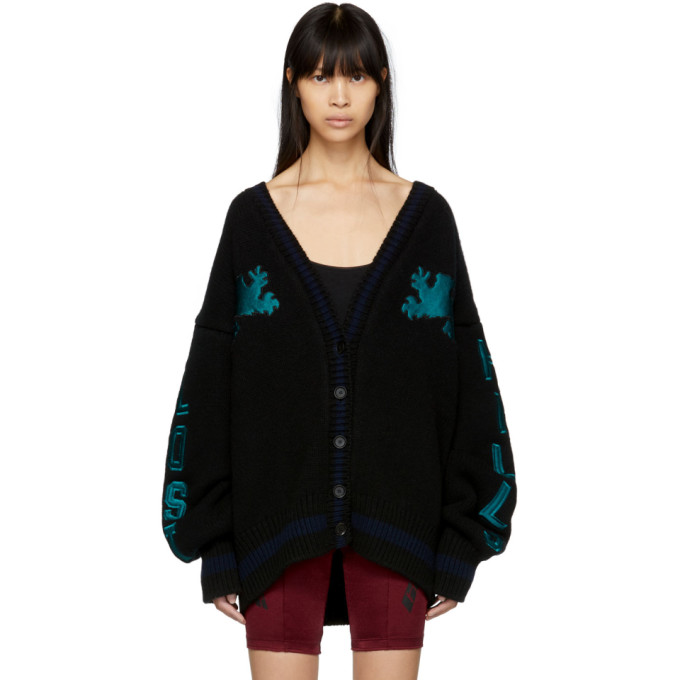 Ink/Burgondy Calabasas Graphic Cardigan