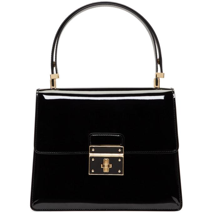 9fd53e72d5 Dolce   Gabbana Dolce And Gabbana Black Flap Lock Bag In 80999 Black ...