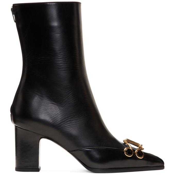 OLIVIER THEYSKENS Olivier Theyskens Black Swanson Boots