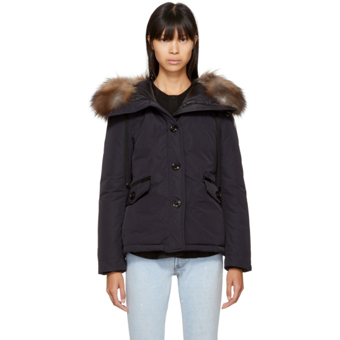 ced3df957 Navy Down Malus Jacket