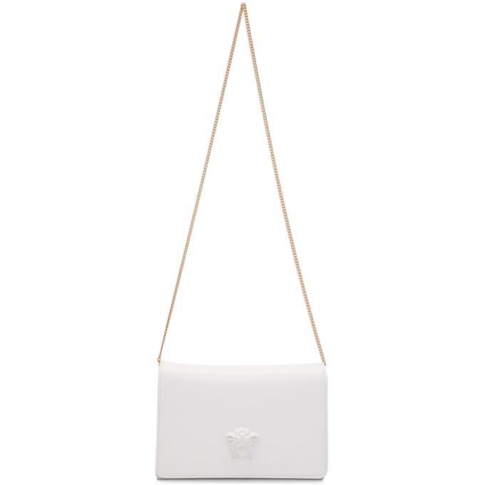 WHITE PALAZZO SULTAN BAG