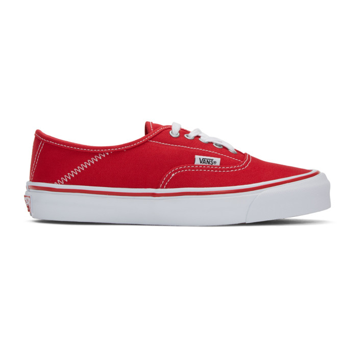 Red Alyx Edition Og Style 43 Lx Sneakers by Vans